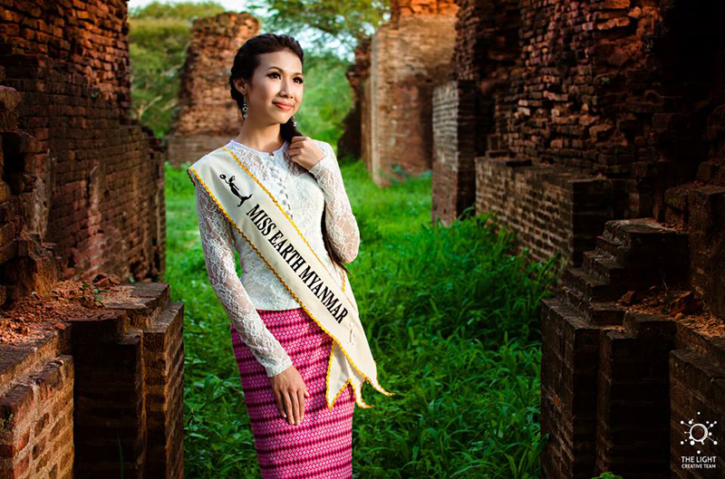 Eaint Myat Chal - Miss Earth Myanmar 2015 (2)