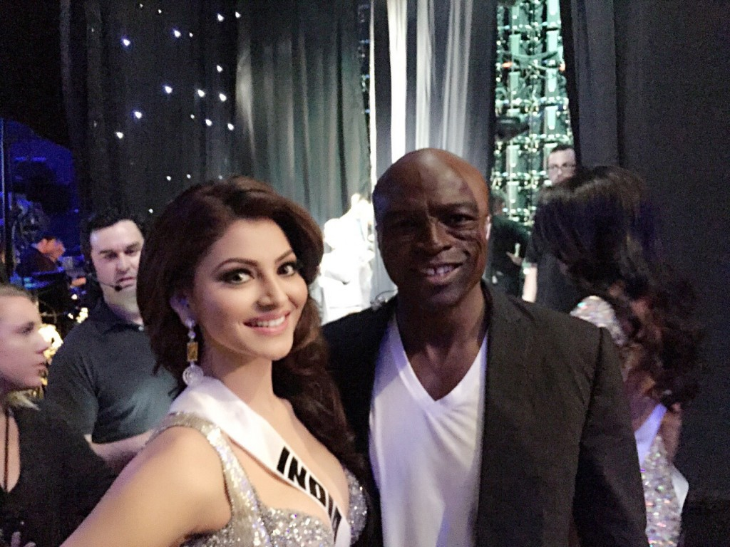 Urvashi Rautela and Hollywood Singer Seal 3