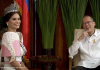 Miss Universe 2015 Pia Wurtzbach meets the Philippine president