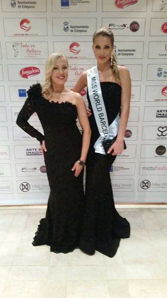 Tina Olari knew Mireia Lalaguna very well. She started dressing the beauty queen during the Miss World Barcelona contest
