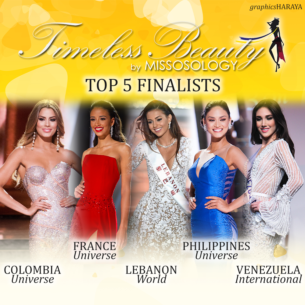 Timeless Beauty 2015 Top 5