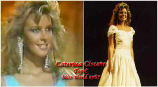 Caterina Ciscato is the last Argentinian woman to make it to semis of Miss World. No one has ever followed her footsteps since then.