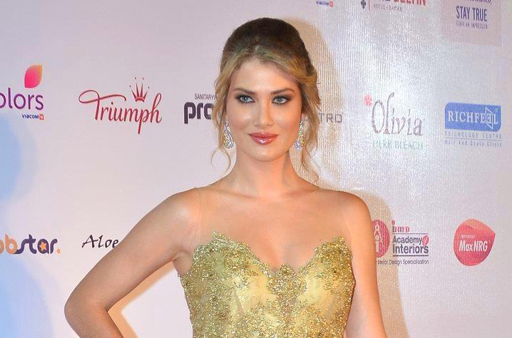 Mireia Lalaguna during the Femina Miss India 2016 contest